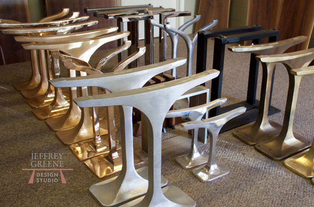 Jeffrey green table bases