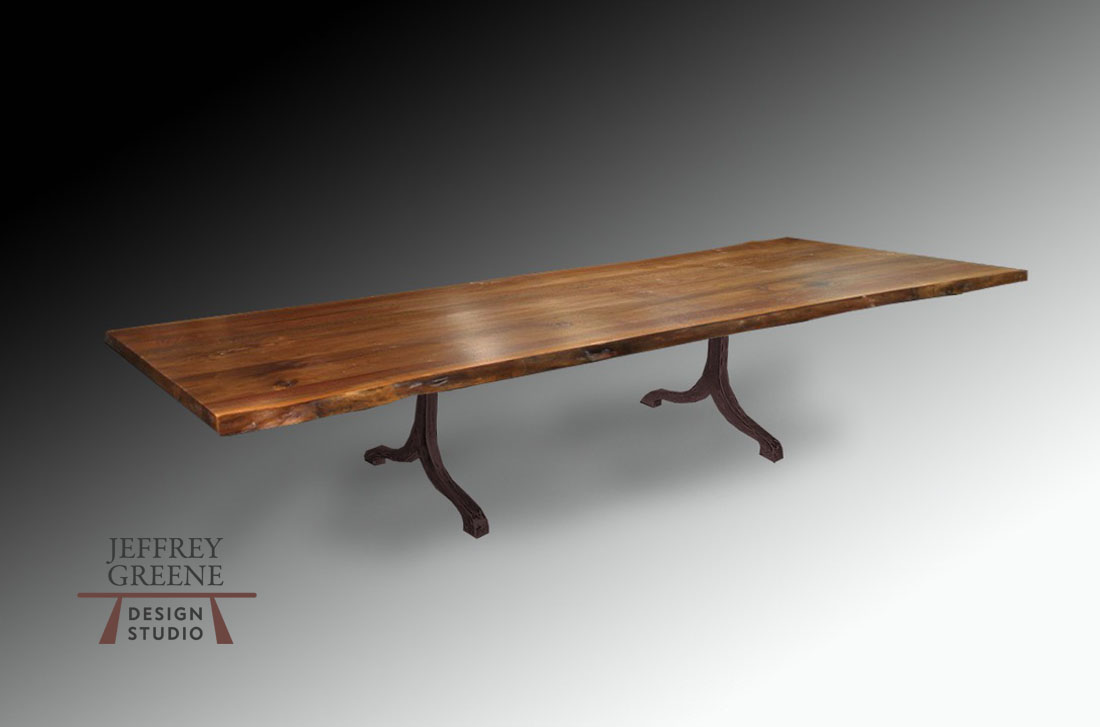 Taj Live Edge Dining Room Table