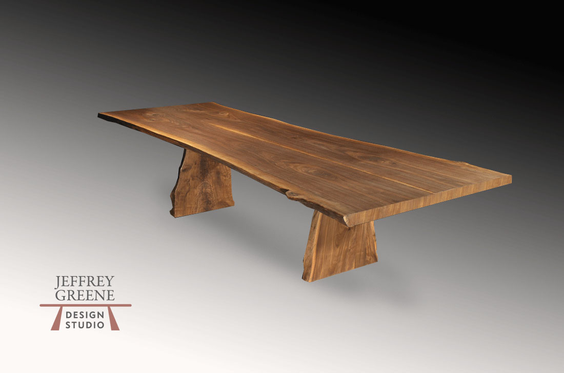 Natural Edge Board Live Edge Dining Room Table