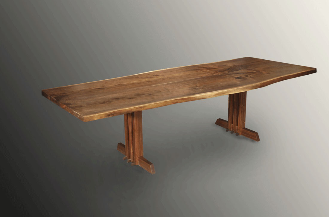 Live Edge Dining Table Customer Review Alpine NJ